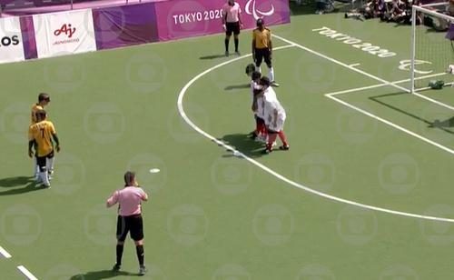 Brasil x Marrocos: TV Globo, SporTV e ge mostram ao vivo a disputa por uma vaga na final do futebol de cinco